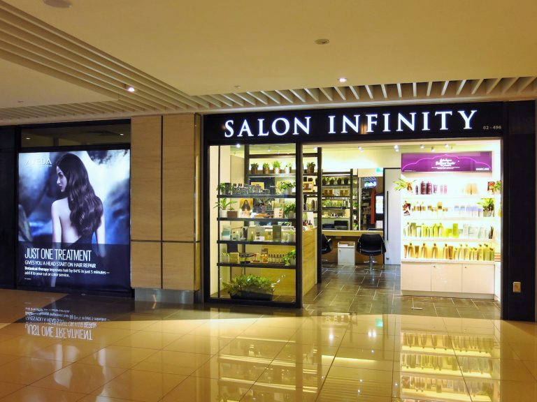 Salon Infinity Shopfront s